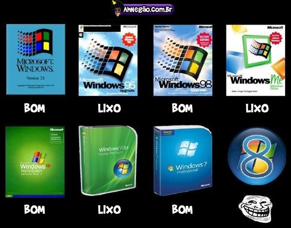 [OFF]Tirinhas, MindFuck, Placas Desmotivacionais, Momentos Tensos entre outros. Windows