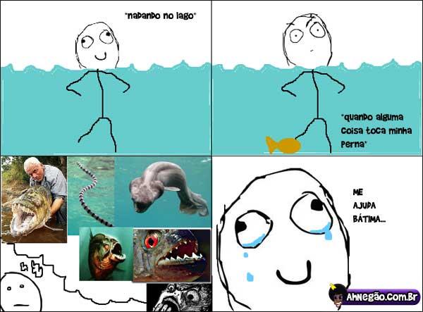 Criaturas aquaticas Lago