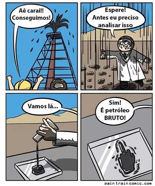 petróleo negao