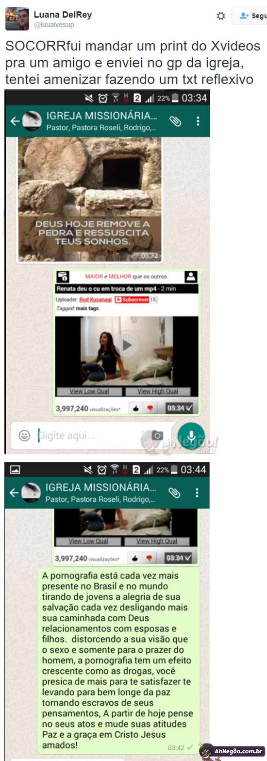 Namorada manda video para o namorado no whatsapp 3 - 2 7