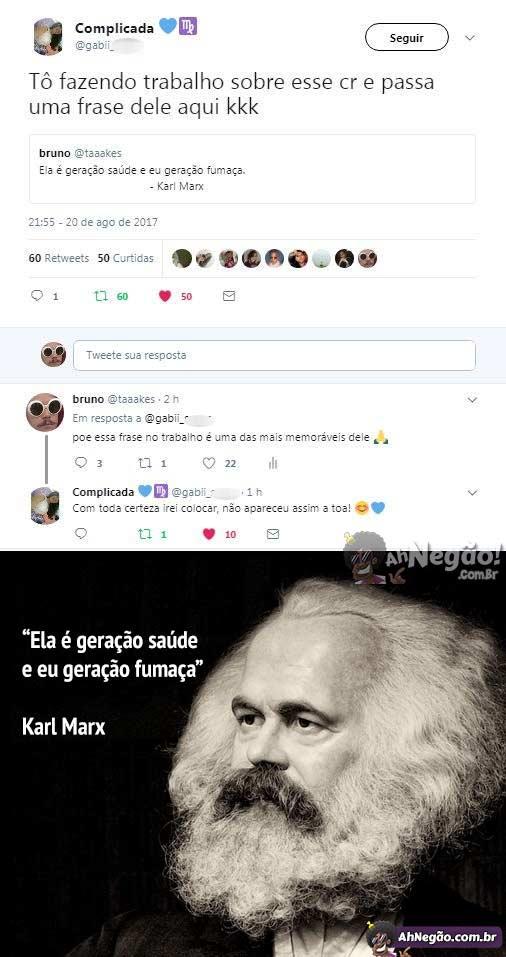 A Frase Mais Marcante De Karl Marx